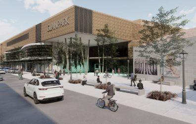 Einkaufszentrum Glanpark Eingangsbereich