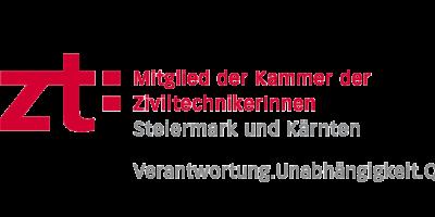 Logo ZiviltechnikerInnen Steiermark und Kärnten